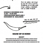 Gratis workshop RAUW 15 – 26 jaar